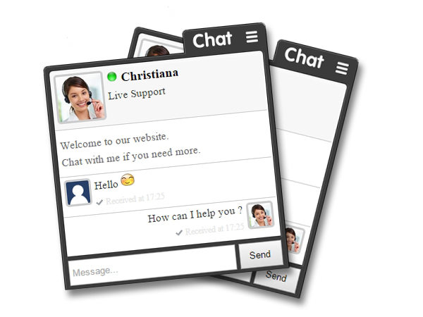 live chat box embed